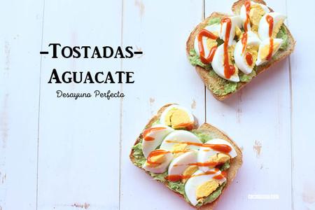 Tostadas Aguacate