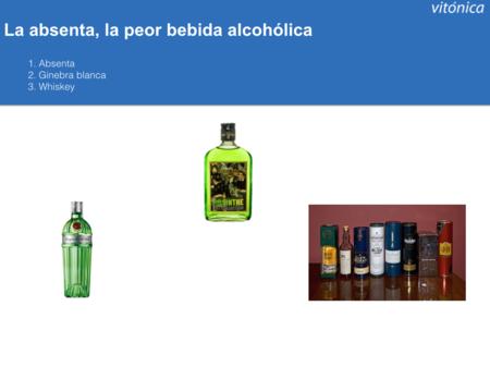 Las Tres Peores Bebidas Alcoholicas
