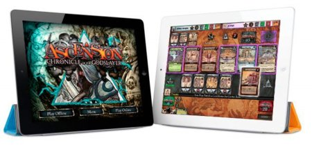 Ascension: Chronicles of the Godslayers, juego de cartas para iOS al estilo Magic the Gathering