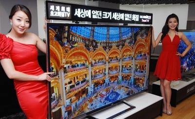 Nueva pantalla de 84 pulgadas de LG con resolución 4K