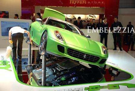 Ferrari 599 Hybrid Concept, un Ferrari 'verde' más rápido