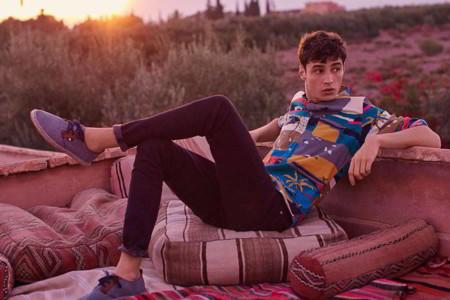 Casual classics de H&M muestra divertidos prints inspirados en el desierto mexicano