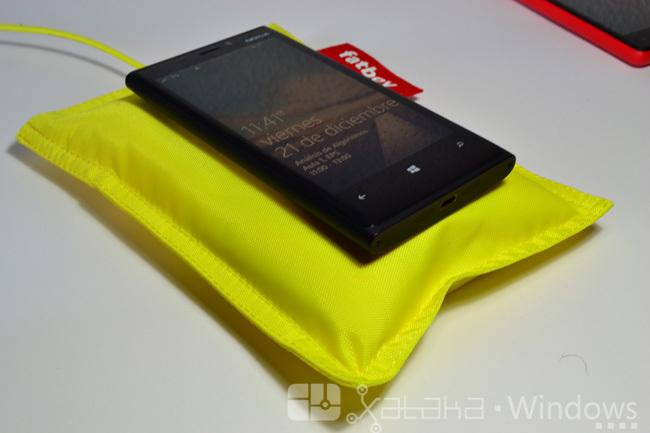 Carga inalámbrica Lumia 920