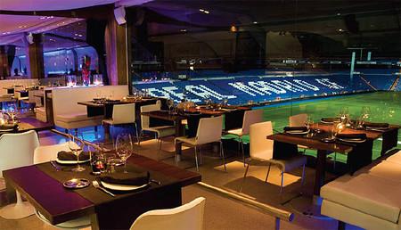 Realcafé Bernabéu, buena cocina con vistas al campo en un agradable renovado ambiente