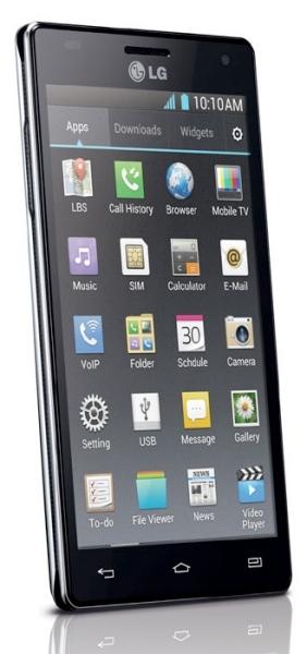 Optimus 4X pantalla