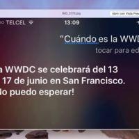 Siri se adelanta y anuncia que la WWDC de Apple se llevará a cabo del 13 al 17 de junio