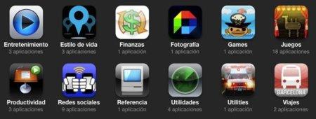 itunes apple aplicaciones categorías compradas app store iphone