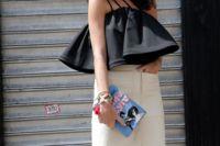 Leandra Medine apuesta por Rosie Assoulin en sus looks de gala