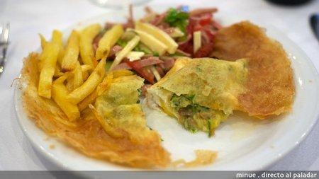 Gastronomía tunecina - huevo brik