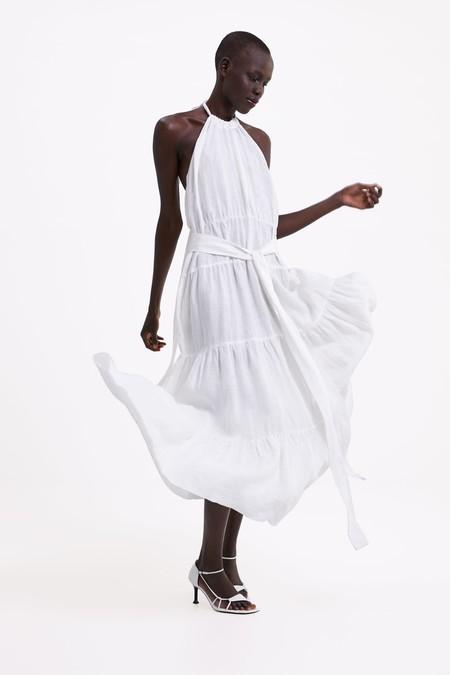 Vestidos blancos verano 2019 zara