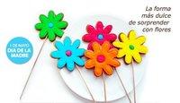 Día de la madre: díselo con flores... de galleta