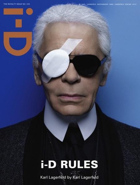 ¡Karl Lagerfeld es tuerto! Ya sabemos el porqué de sus continuos desastres...
