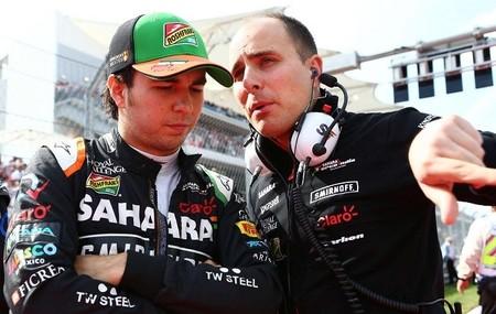 Sergio Pérez continuará en Force India en 2015 con opción también en 2016