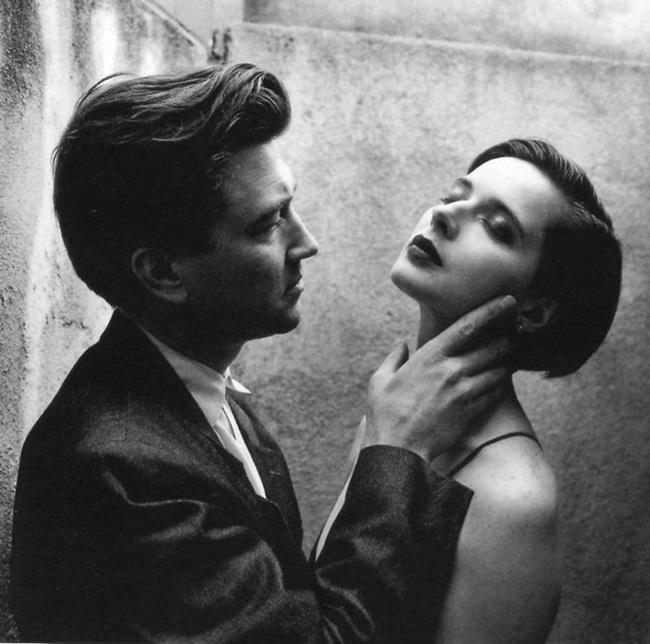 David Lynch y Isabella Rossellini