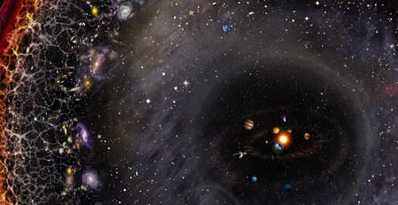 Resultado de imagen de Imagen de todo el Universo