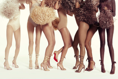 Christian Louboutin lanza nuevos modelos y tonos de nude para adaptarse a todos los tipos de piel