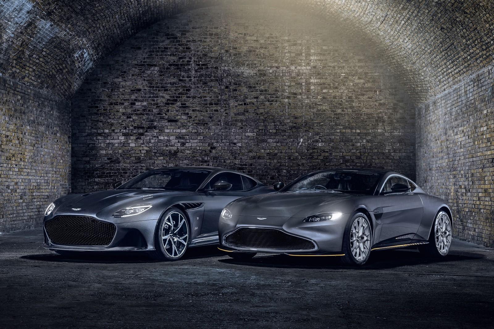 Foto de Aston Martin Vantage y DBS Superleggera 007 Edition (29/39)