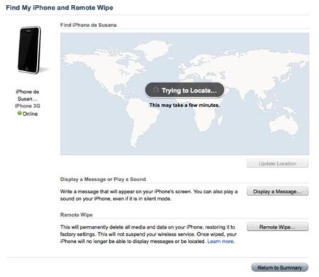 Find My iPhone, probando nuevas funciones