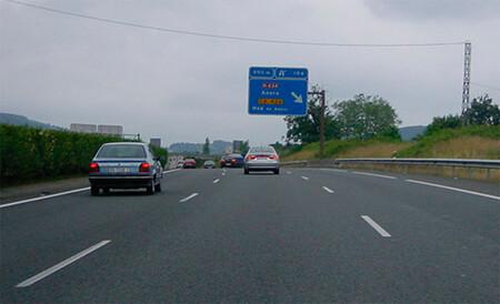 Carril derecho autovía, test carnet de conducir B