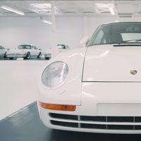 Video: Esta podría ser la mejor colección privada de Porsche en el mundo... siempre y cuando seas fan del blanco