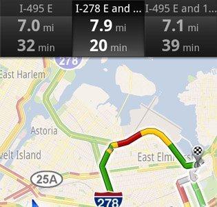 Google Maps Navigation para Android podrá cambiar nuestra ruta según el tráfico en carretera