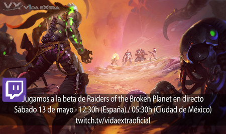 Streaming de Raiders of the Broken Planet a las 12:30h (las 05:30h en Ciudad de México)