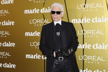 Karl Lagerfeld Prix de la Moda Marie Claire