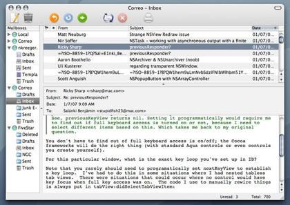 Correo, un nuevo cliente de correo para Mac