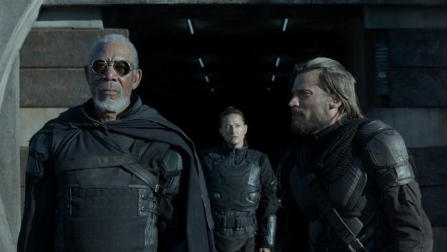 Morgan Freeman, Zoë Bell y Nikolaj Coster-Waldau