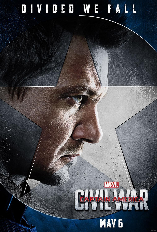 Foto de 'Capitán América: Civil War', nuevos carteles de los protagonistas (4/11)
