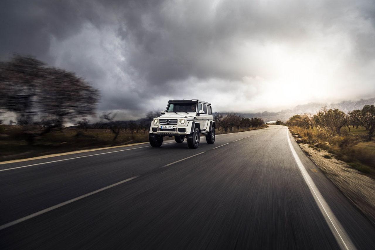 Foto de Mercedes-Benz G 500 4x4², toma de contacto (83/127)