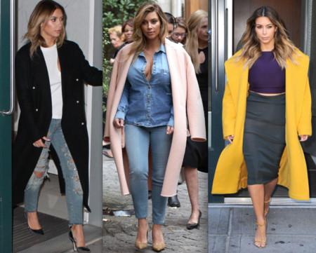 kim kardashian street style 2013
