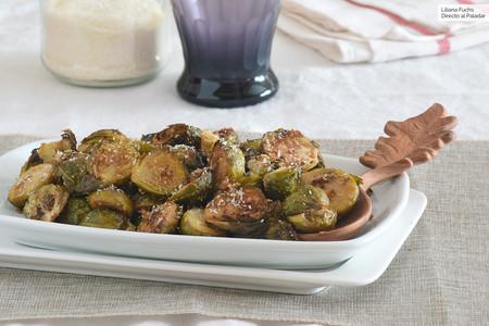 Coles de Bruselas al horno con coco: receta saludable para recuperar una verdura muy navideña
