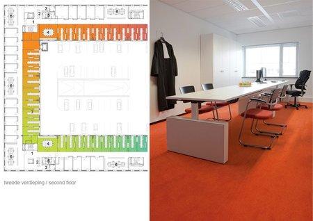 Espacios para trabajar: oficinas arcoíris - despacho