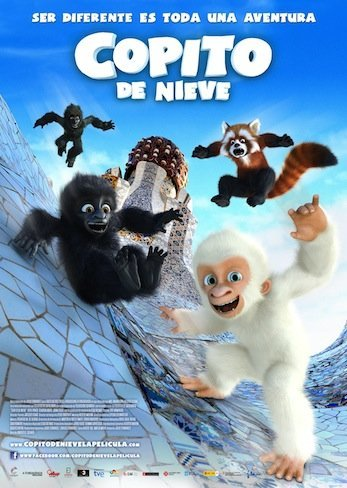 cartel copito de nieve