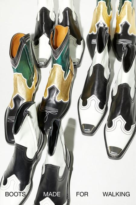 Botas Cow Boy Obras Arte 01