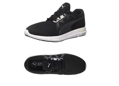 cd902dbac Desde 22,58 euros podemos hacernos con estas zapatillas Puma Nrgy Dynamo en  color negro gracias a Amazon