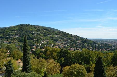 Vistas desde el Castillo de Brescia