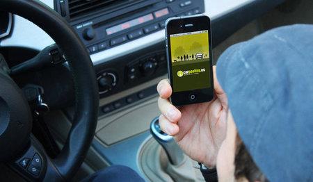 Aplicación móvil Carpooling