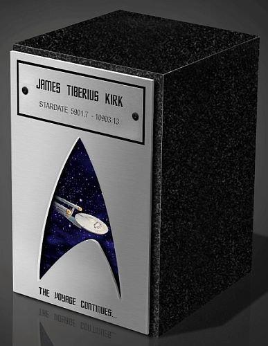 Una urna crematoria para los fans de Star Trek