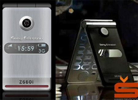 Sony Ericsson Z660i podría estar en camino