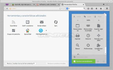 Personalizar Firefox 29