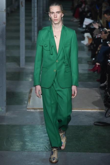 Verde Botella El Color Para Atrapar Miradas Este Otono Ha Llegado Trendencias Hombre