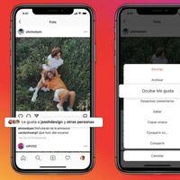 Instagram ya te deja ocultar el número de 'likes' de tus publicaciones: así puedes activar esta nueva función en México