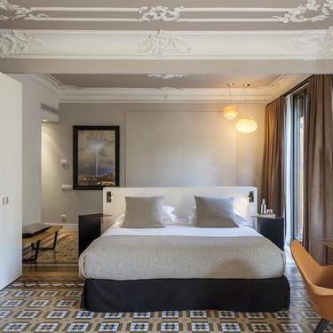 Borrel Jover firma la reforma de las habitaciones del cosmopolita hotel Alexandra Barcelona