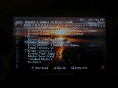 Emulador de PSOne en la PSP