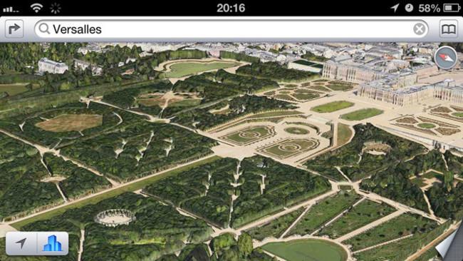 Flyover Paris, Palacio de Versalles en 3D