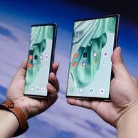 OPPO X 2021: el primer concepto de smartphone con panel extensible logra estirar su pantalla de 6.7 a 7.4 pulgadas con un gesto