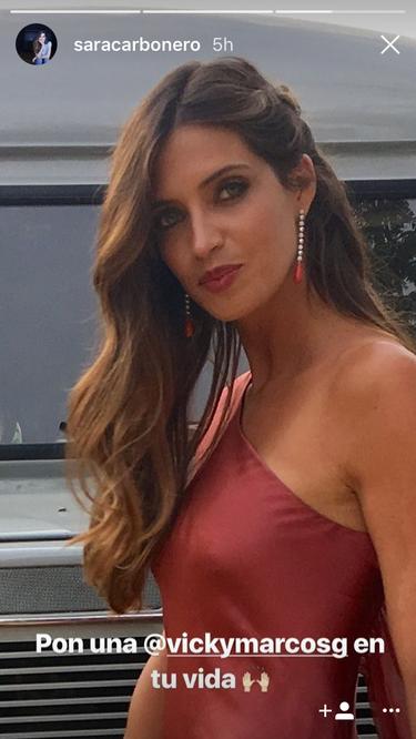 Sara Carbonero se va de boda y este ha sido su look de invitada
