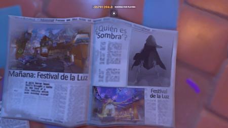 Ración de filtraciones de Overwatch: Sombra como nuevo personaje y contenido Halloween